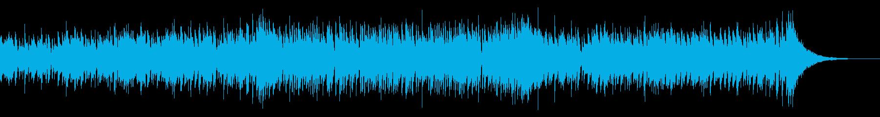 爽やかな夏のCMにおしゃれ生演奏ウクレレの再生済みの波形