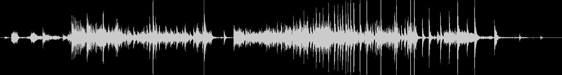 メタル クリークストレスミディアム01の未再生の波形
