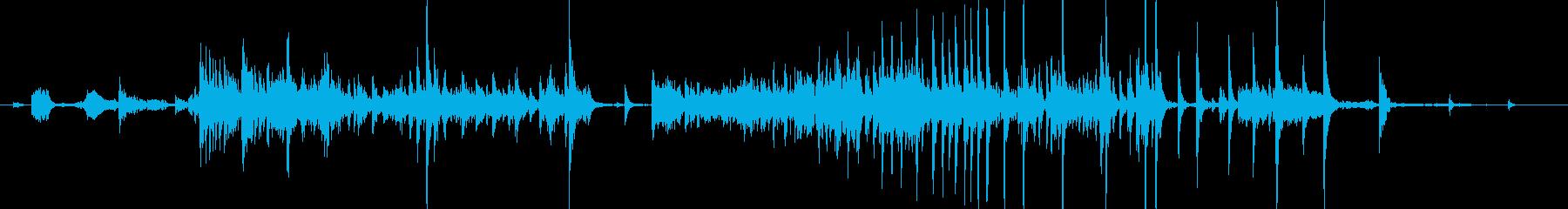 メタル クリークストレスミディアム01の再生済みの波形