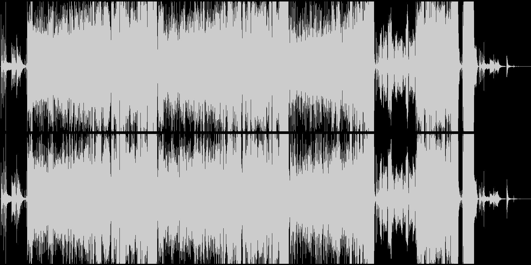 女性ボーカル/初恋をイメージしたバラードの未再生の波形