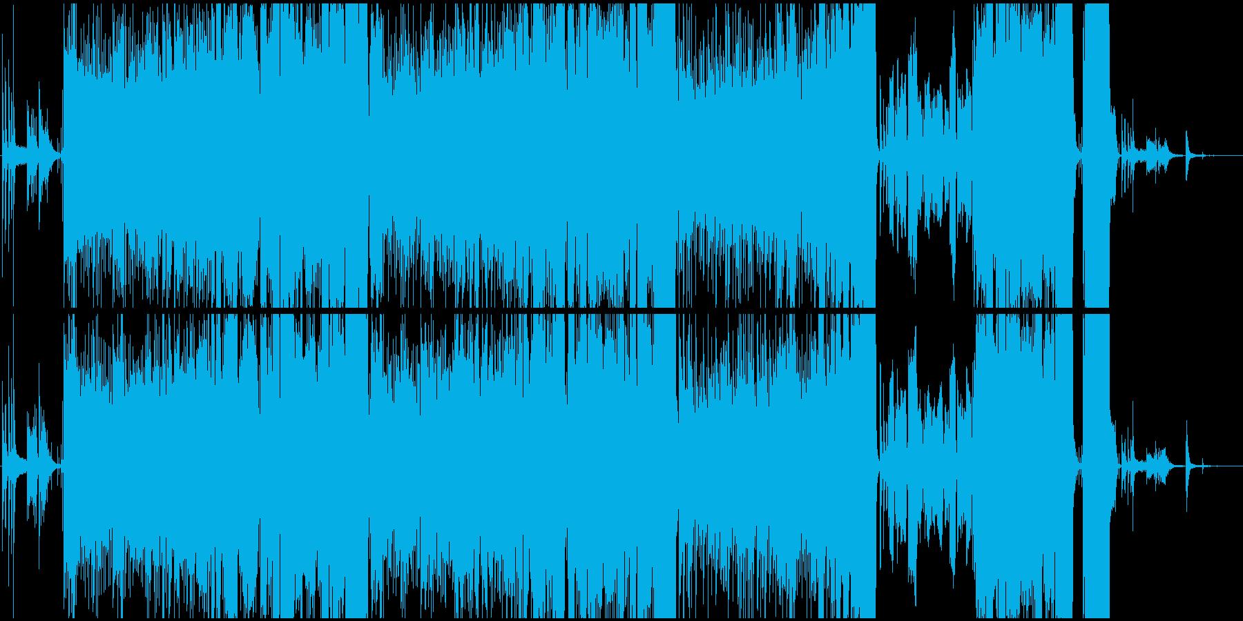 女性ボーカル/初恋をイメージしたバラードの再生済みの波形