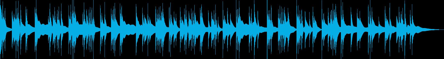 渋いアコースティックベースソロ曲の再生済みの波形