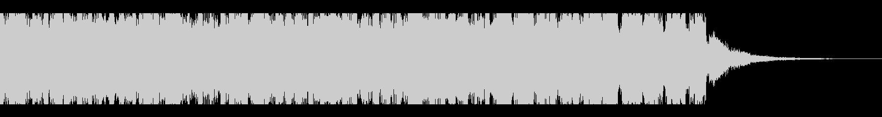 ダンスエネルギッシュパーティー(15秒)の未再生の波形