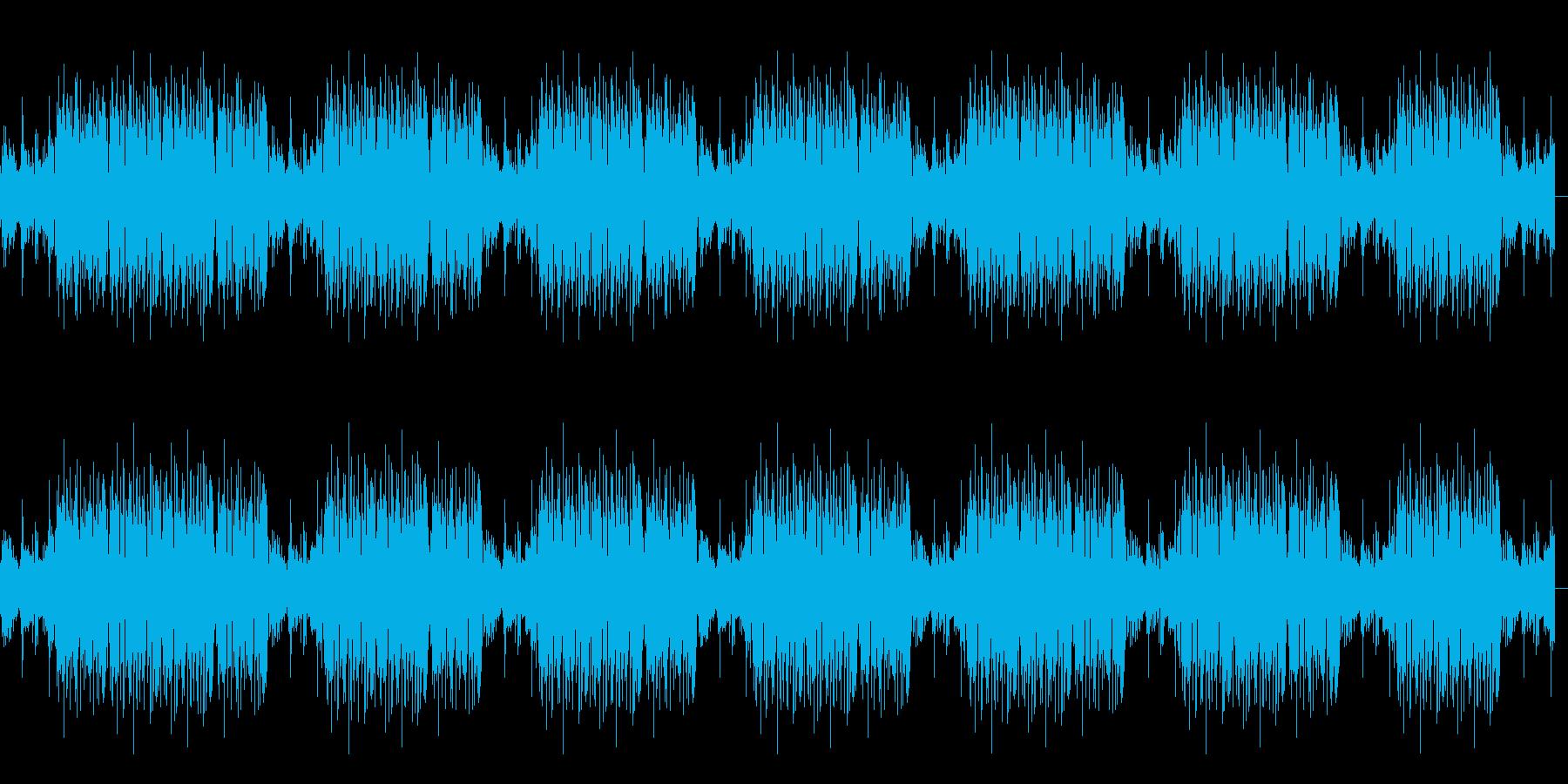 FPSゲームのキル集動画を作る際のBGMの再生済みの波形