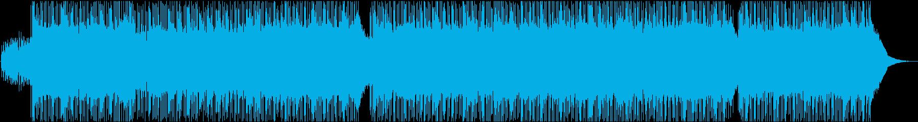 Rock, emotional, energetic's reproduced waveform