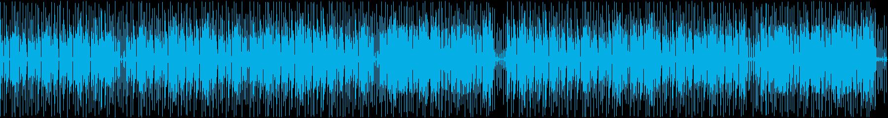 歯切れ良く軽快なビートを刻む2step曲の再生済みの波形