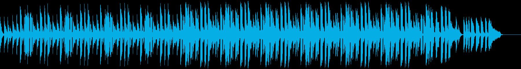bpm80スウィングドラム抜きの再生済みの波形