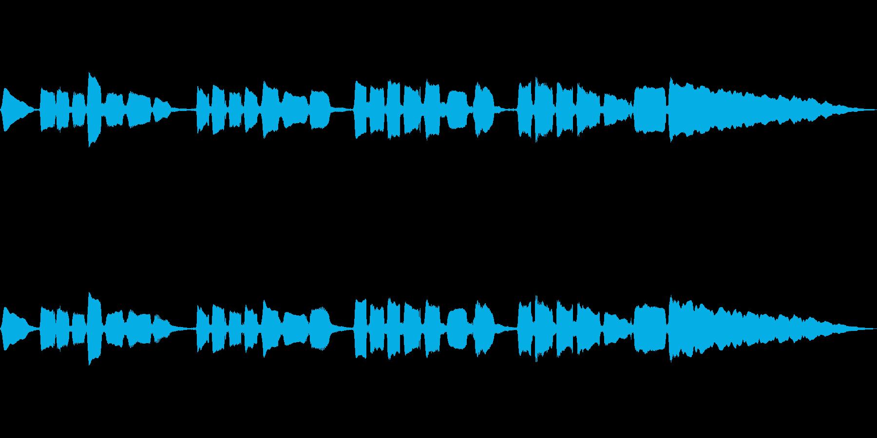 サックスのソロ演奏 切ないメロの再生済みの波形