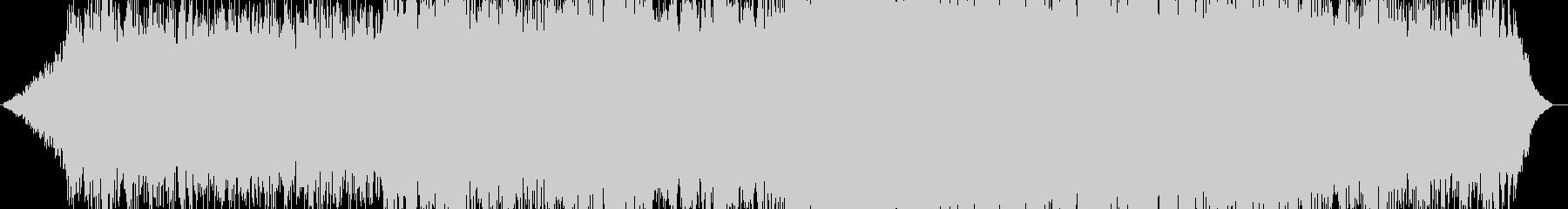 暗い雰囲気。不吉なサウンドスケープ...の未再生の波形