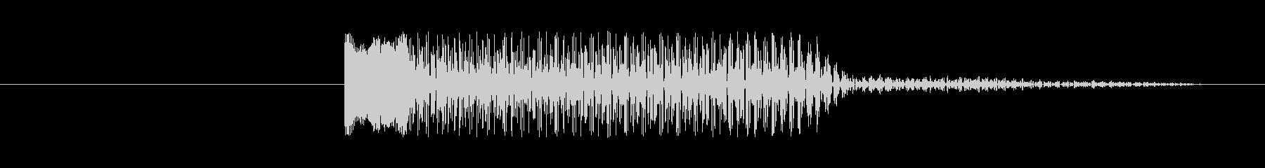 FX おならホーン02の未再生の波形