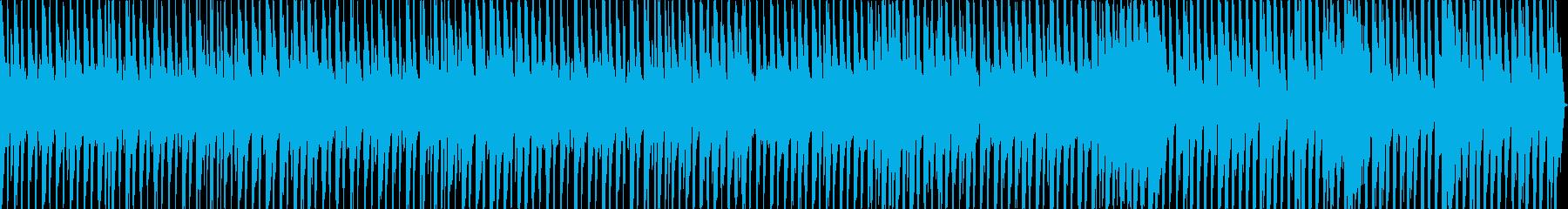 きらっとした楽しげなBGMの再生済みの波形