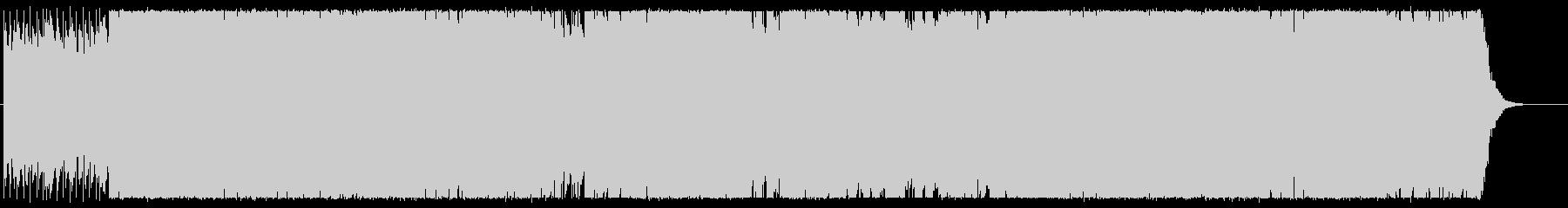 軽やかでクールなエレキポップサウンドの未再生の波形
