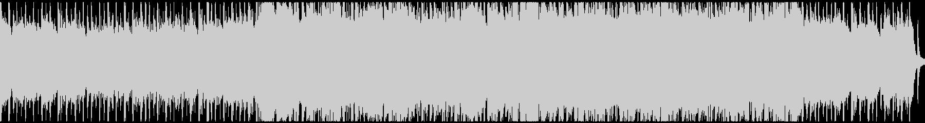 タイムアタック等明るく急かされるポップ曲の未再生の波形
