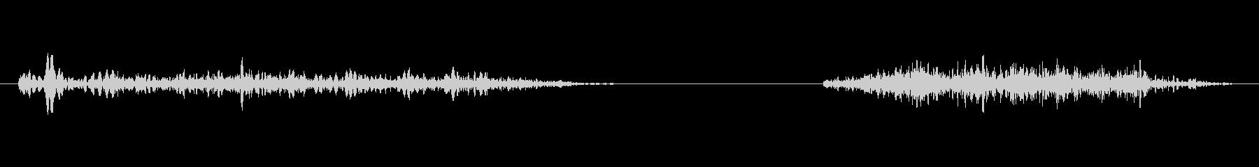 アンティークの木製ウィンドウ:開い...の未再生の波形