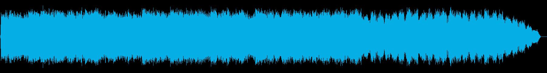 爽やかな竹笛のヒーリング音楽の再生済みの波形