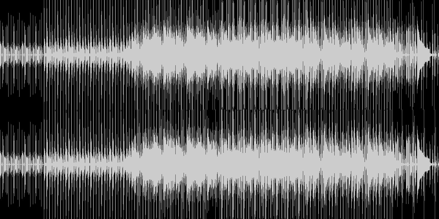 カッティングギターが特徴のファンクの未再生の波形