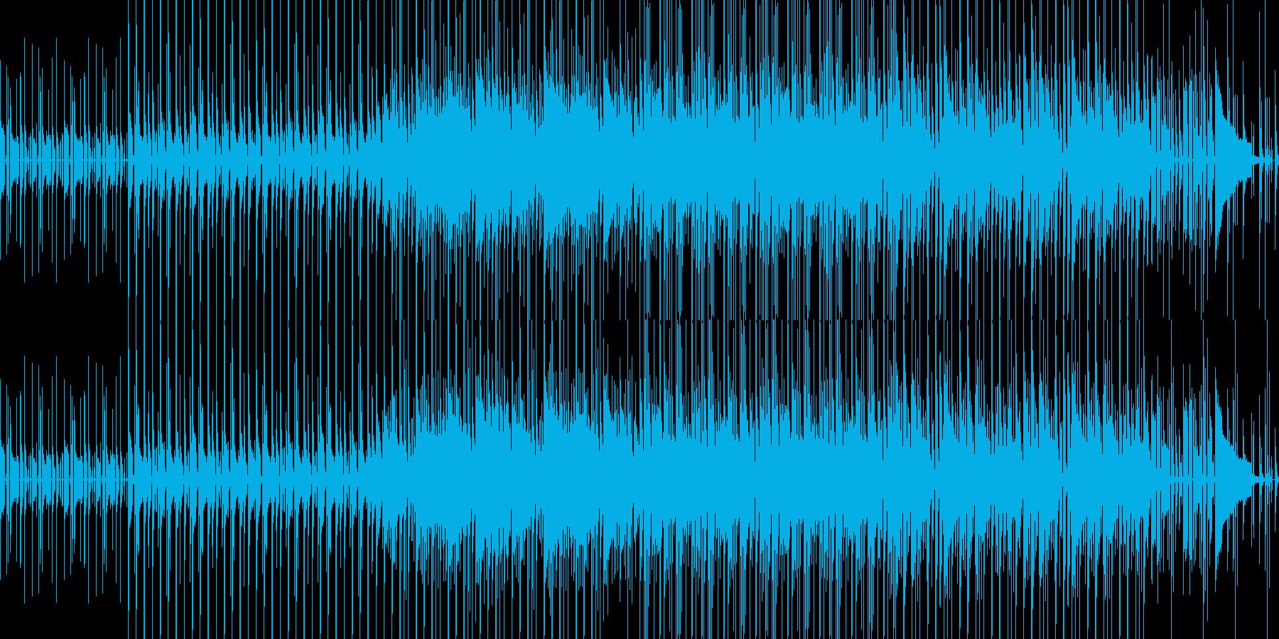 カッティングギターが特徴のファンクの再生済みの波形