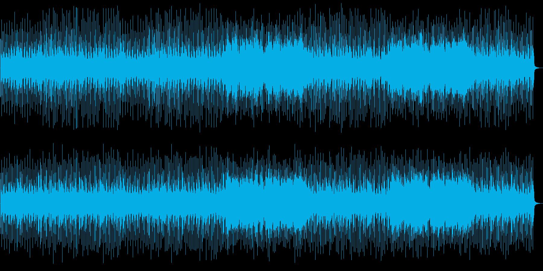 とっても明るいポップでかわいい曲の再生済みの波形