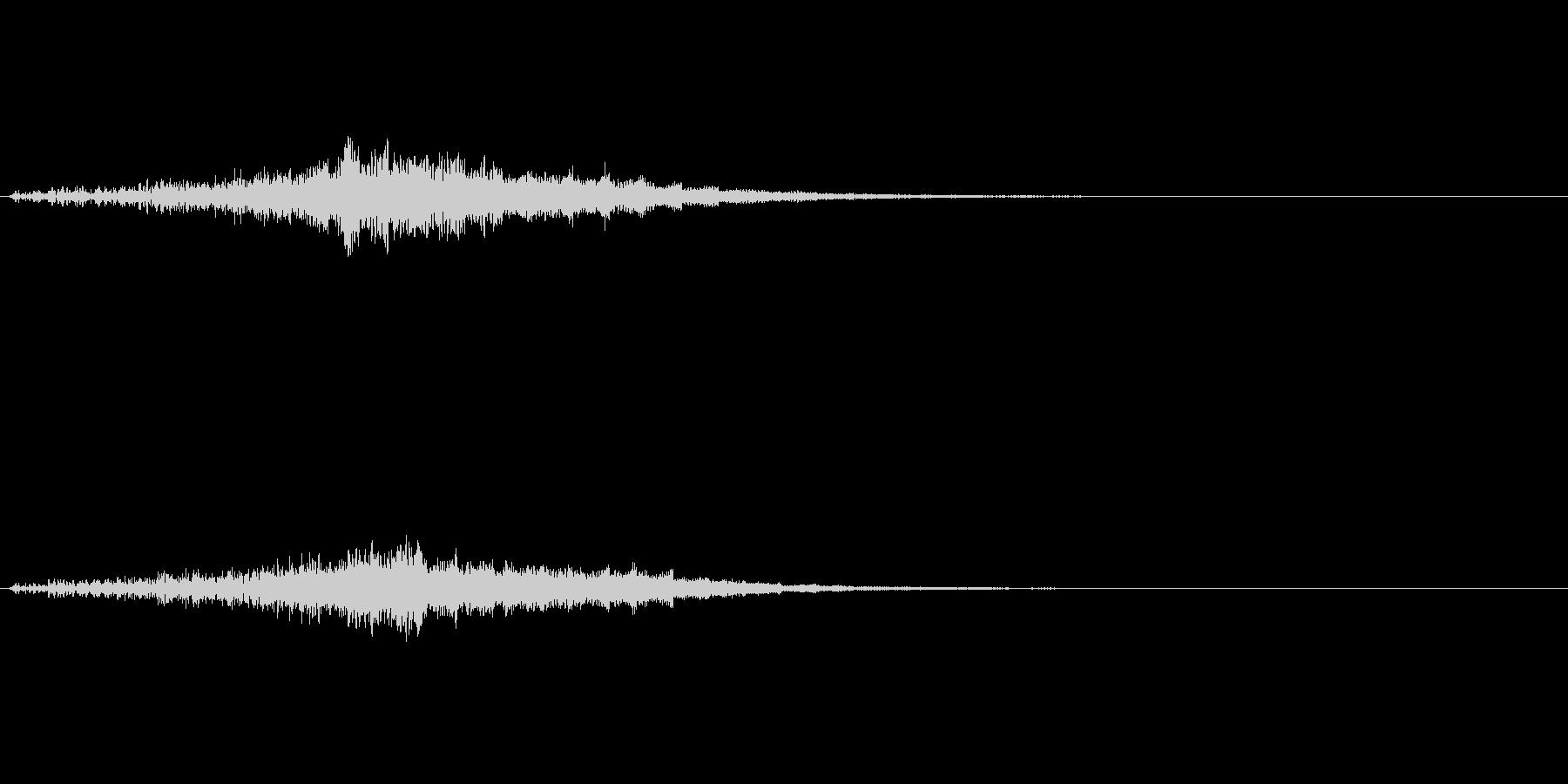 ファーン(光の魔法、エフェクト)の未再生の波形
