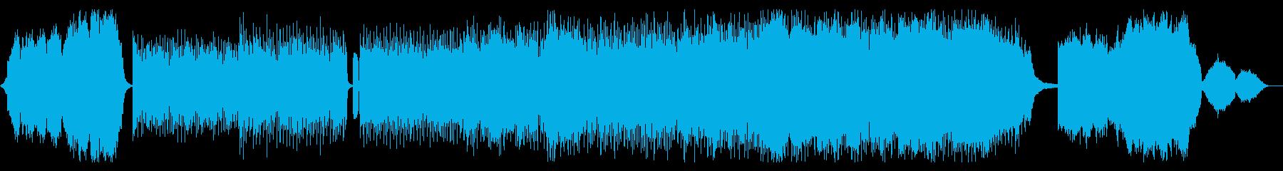 PV向けの4つ打ちインストポップの再生済みの波形