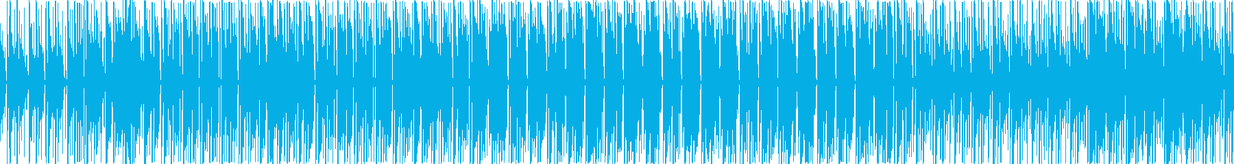アフリカンビートなレゲエの再生済みの波形
