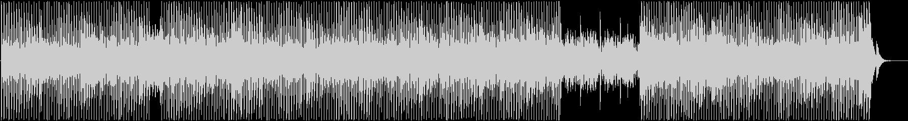 明るく軽快なシンセポップの未再生の波形