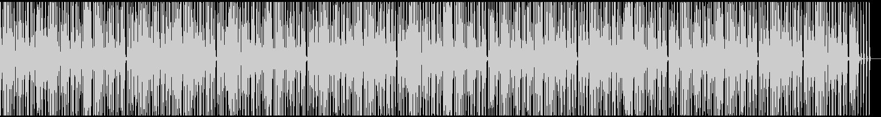アナログシンセのシーケンスの未再生の波形