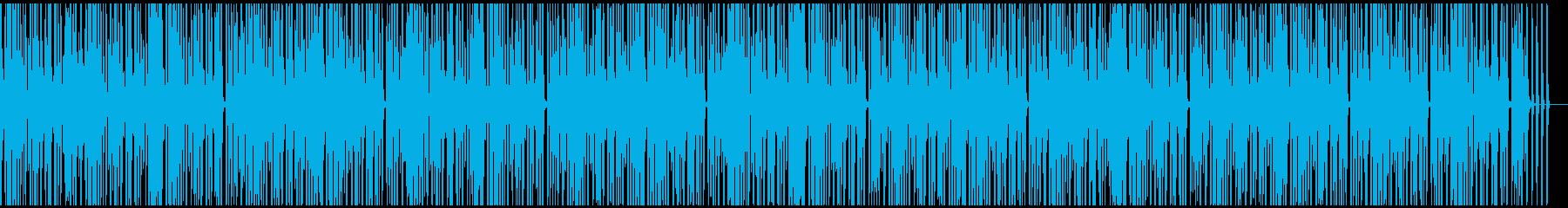 アナログシンセのシーケンスの再生済みの波形