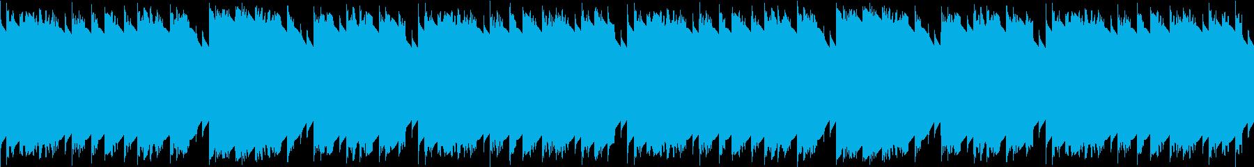 童謡「お正月」レトロゲーム風 ループ仕様の再生済みの波形