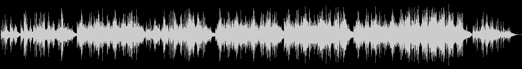 ゆったりしたピアノサウンドの未再生の波形