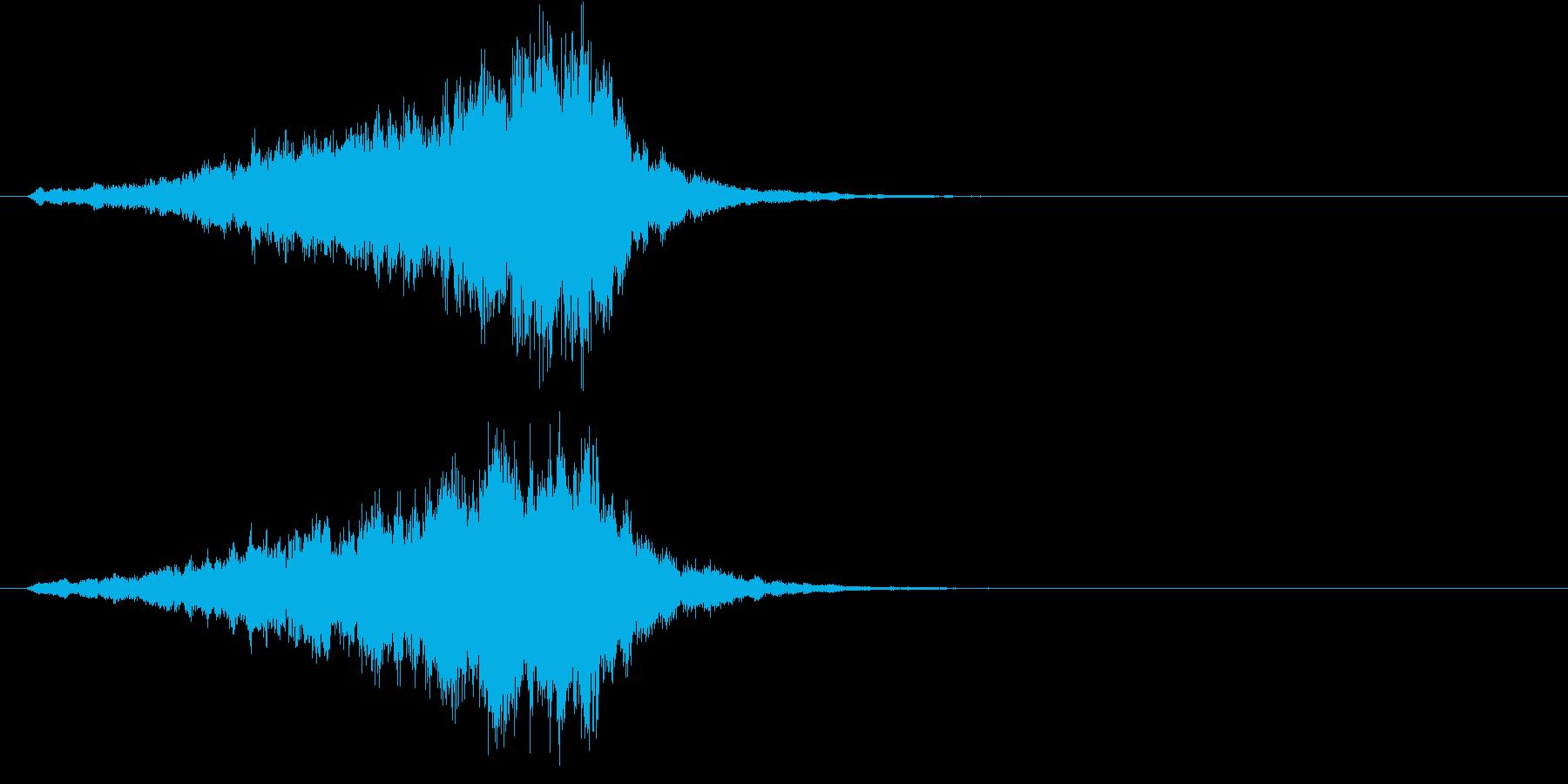 不安・恐怖 ストリングスのSE 2の再生済みの波形