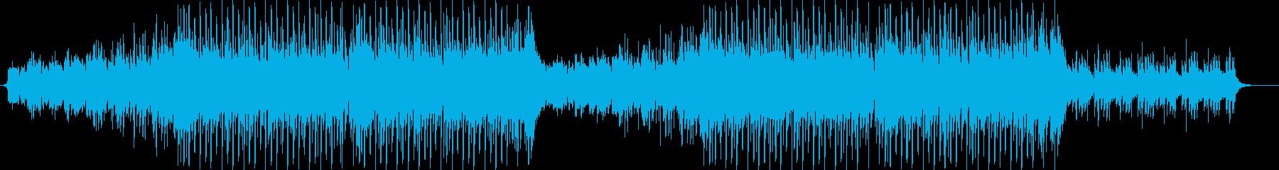 切ない夏をイメージしたトロピカルハウスの再生済みの波形