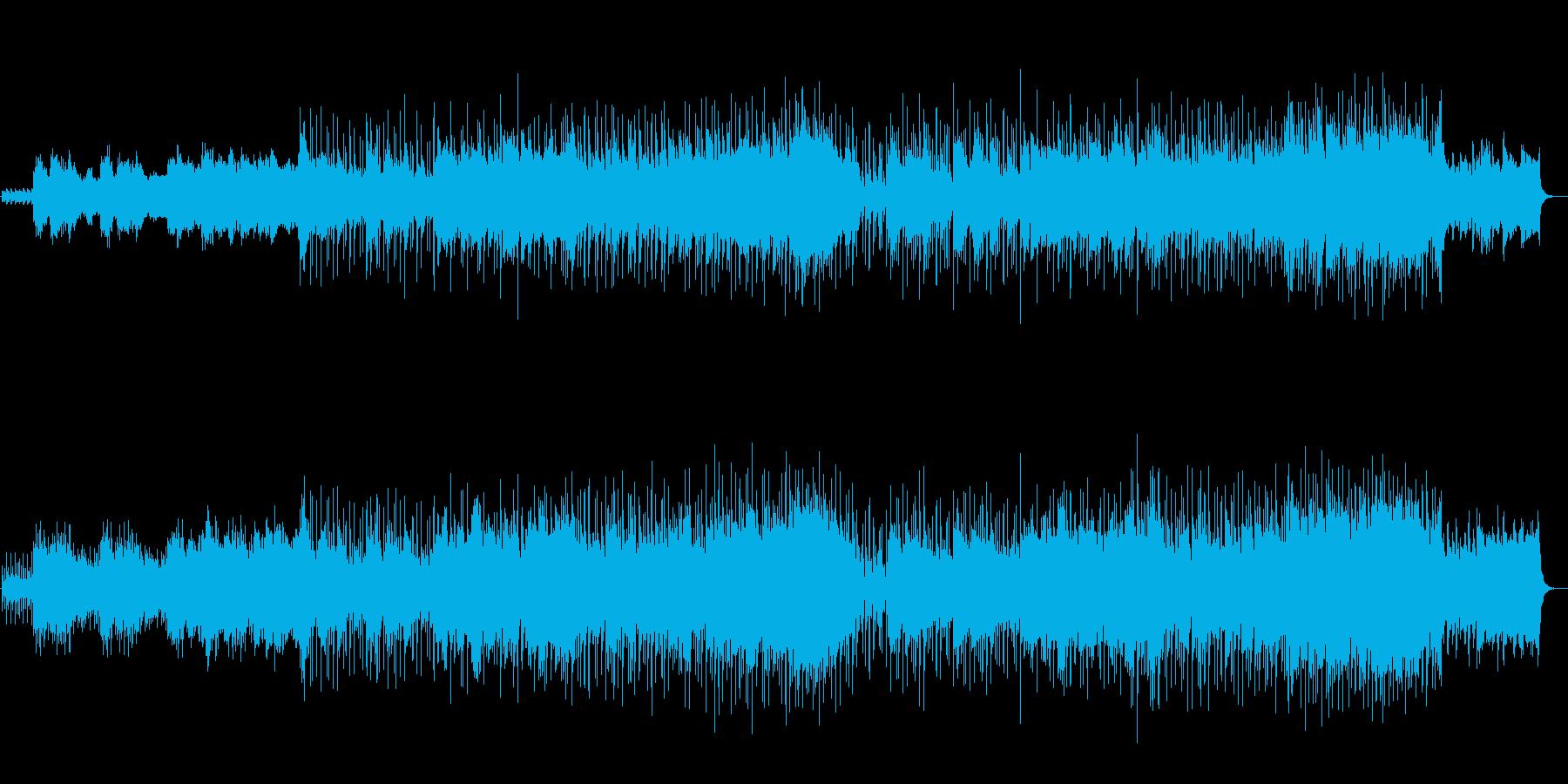 ホワイト・メモリー(クリスマスソング)の再生済みの波形