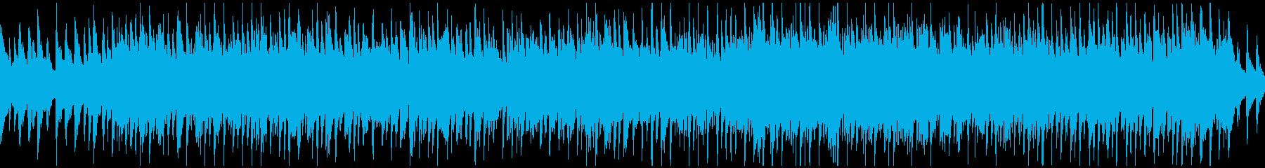 爽快アップテンポ楽しいウクレレ※ループ版の再生済みの波形