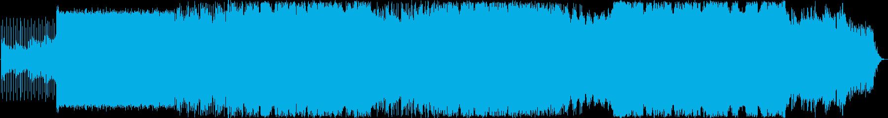 壮大なストリングスとハイトーンなボーカルの再生済みの波形