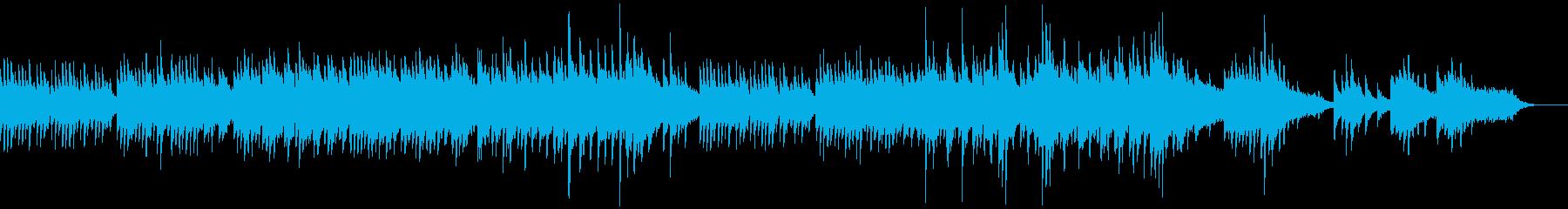 映像・ナレーション用ピアノ演奏(癒し)の再生済みの波形