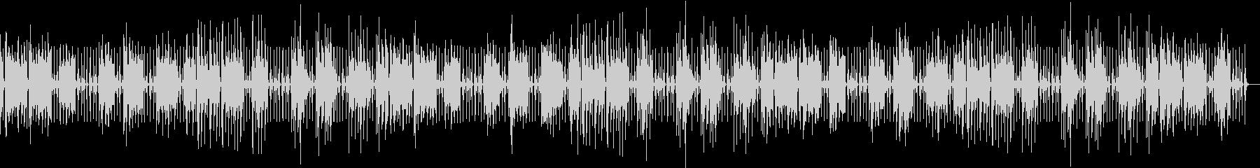 のんきにゆるいほのぼのbgmの未再生の波形