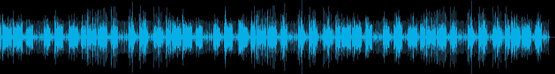 のんきにゆるいほのぼのbgmの再生済みの波形