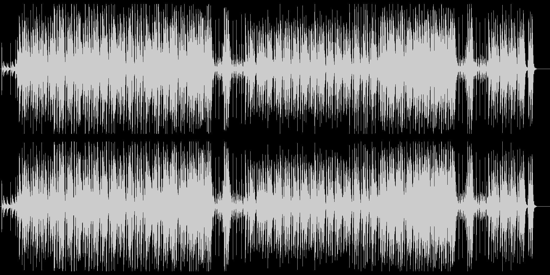 5拍子のジャズの未再生の波形