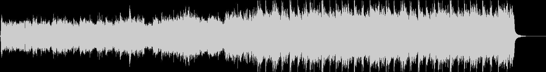 ドキュメンタリーOP風ロックバラードの未再生の波形