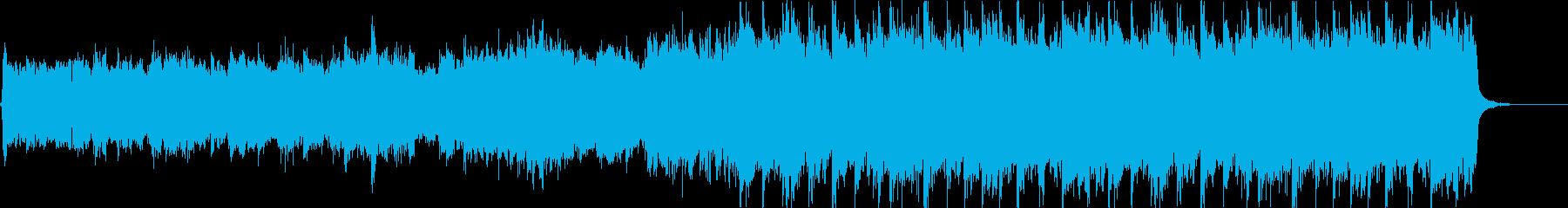 ドキュメンタリーOP風ロックバラードの再生済みの波形