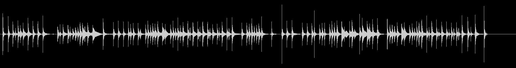 三味線34娘道成寺13日本式レビューショの未再生の波形