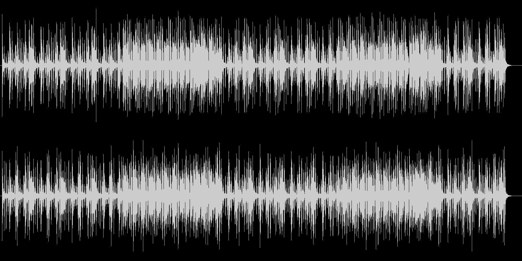 軽快なリズムが特徴のポップスの未再生の波形