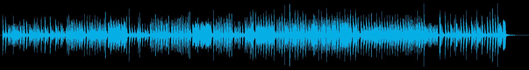 クッキング中に合いそうな曲の再生済みの波形