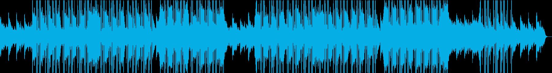 シネマティックなピアノ(エモいバラード)の再生済みの波形