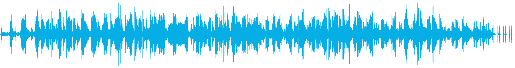 ピアノとフルートの即興 おしゃれの再生済みの波形