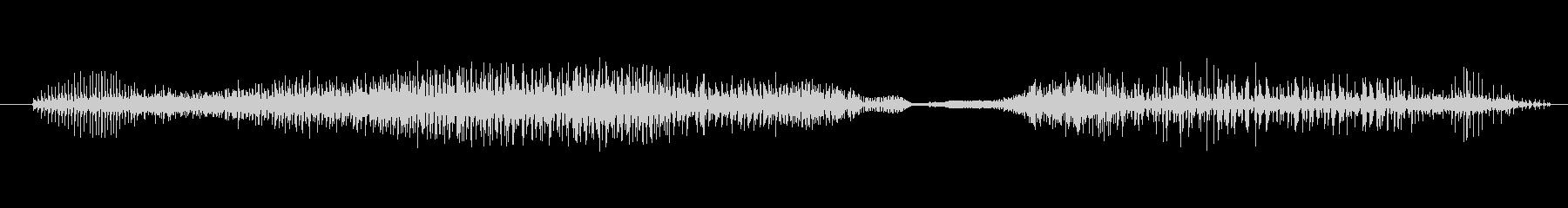 ゾンビ ヒューマンチェンジ02の未再生の波形
