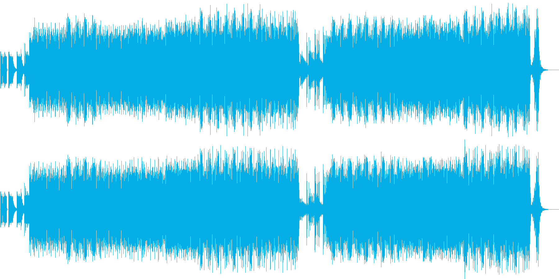 <SF>ヒューマノイドが追跡するシーンの再生済みの波形
