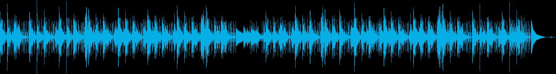 日常/朝 ジャジーな癒しリラックスピアノの再生済みの波形