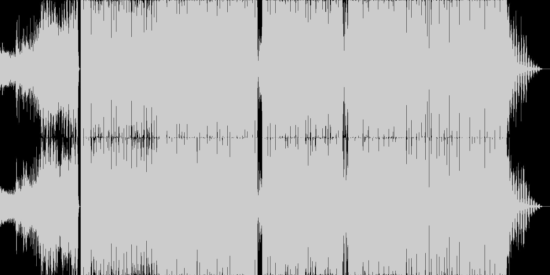 【映像制作OP】告知宣伝PV・インパクトの未再生の波形